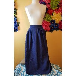 VTG Radcliffe linen Full skirt size 12